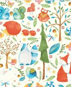 Woodsy - Barb Tourtillotte for Clothworks
