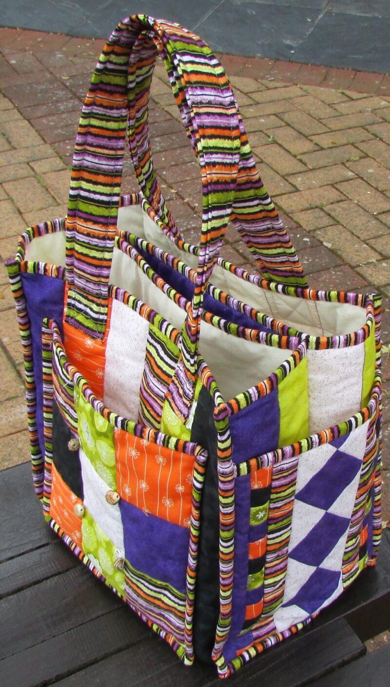 7 Pocket Patchwork Bag New Forest Fabrics