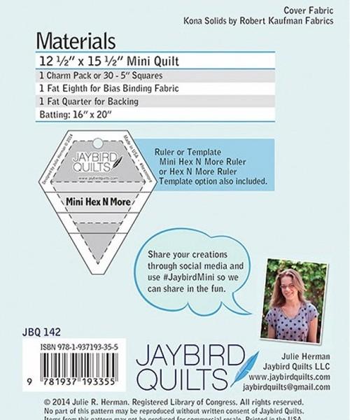 Jaybird Mini Disco Quilt Pattern New Forest Fabrics
