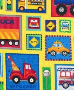 Truck Stop - Fabri-Quilt