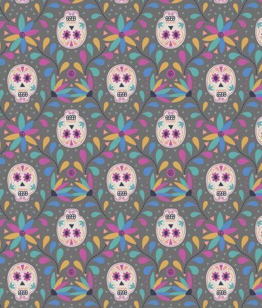 A204.3 - Skulls on Grey