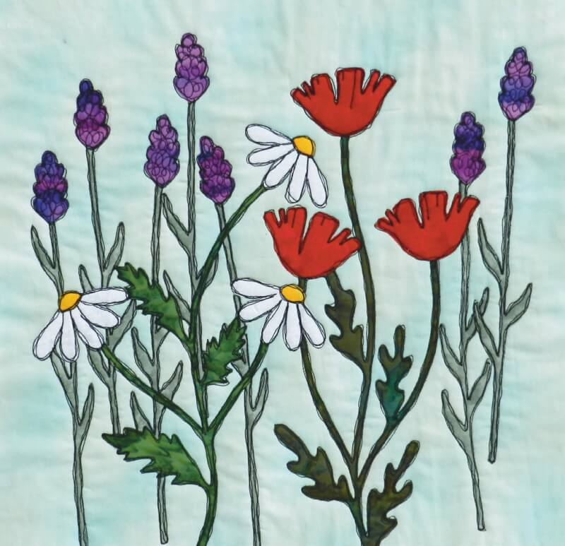 Cottage Garden With Gail Lawther New Forest Fabrics