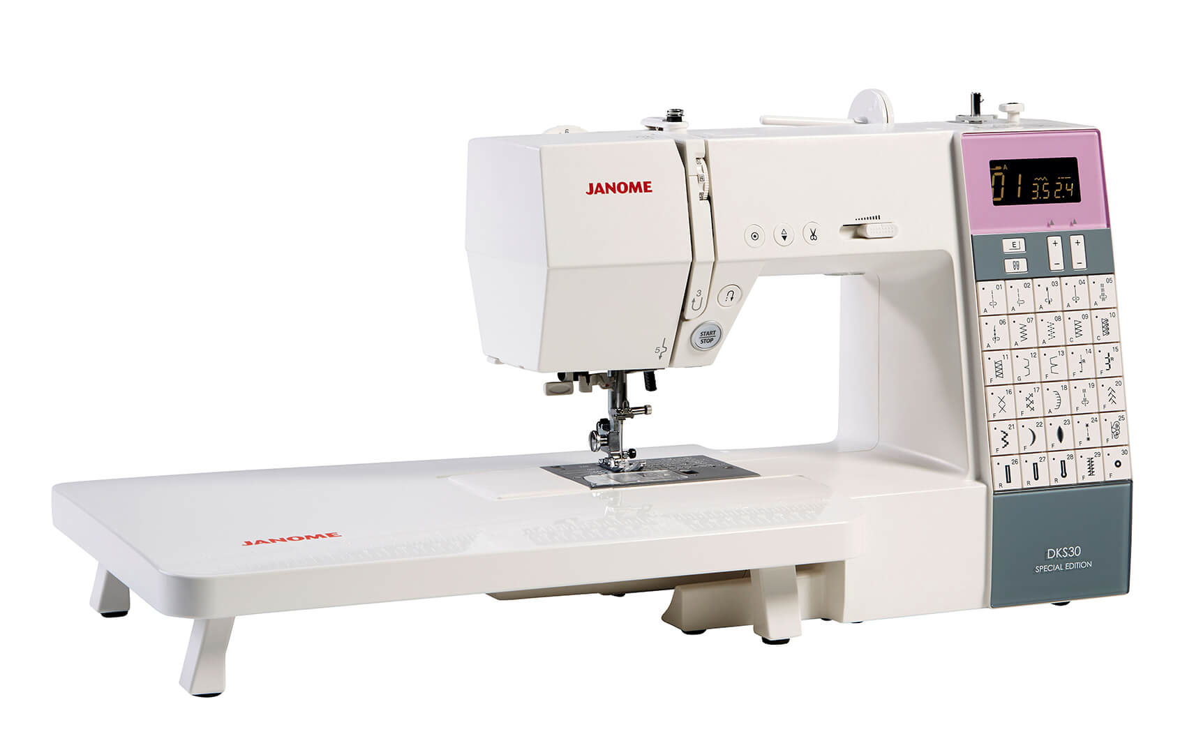 janome dks30 special edition sewing machine new forest fabrics. Black Bedroom Furniture Sets. Home Design Ideas