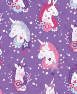 Unicorn Kisses - Lucie Crovatto for Studio e Fabrics