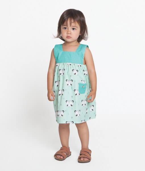 Katia Sewing Patterns Girls Dress With Yoke New Forest Fabrics