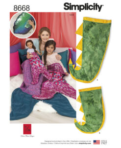Pattern 8668 Novelty Blankets