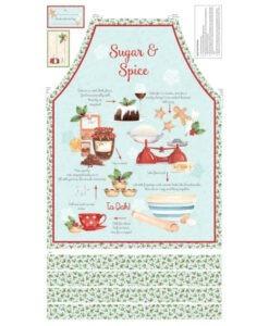 Sugar & Spice Apron Panel - Karen Tye Bentley for Northcott Fabrics