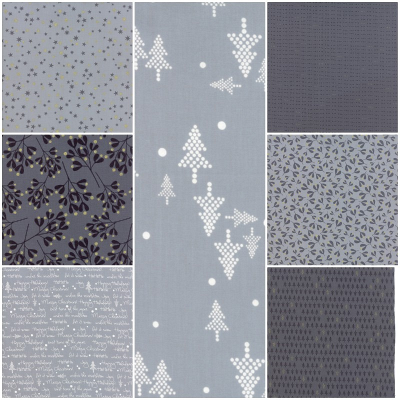 White Christmas By Zen Chic For Moda Fabrics White