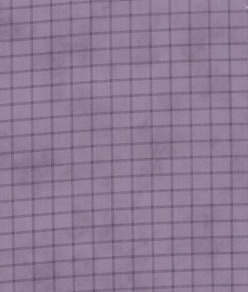 Plaid in Lilac - 2227-14