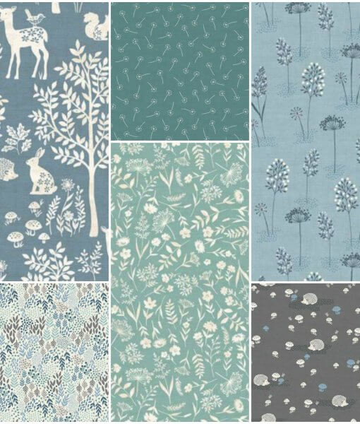 Woodland Fat Quarter Pack