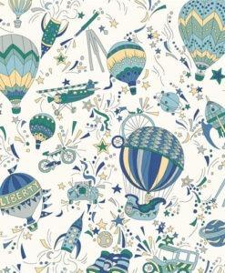 Adventures In The Sky - Liberty London Fabrics