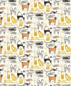 You Had Me At Meow - Florence English for Northcott Fabrics