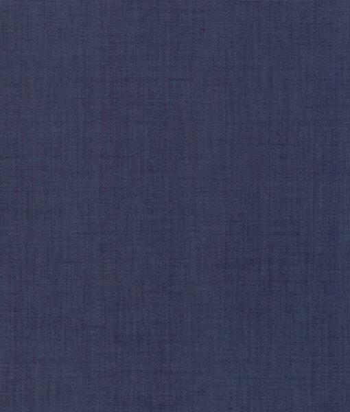Linen Texture in Indigo - 13529-158